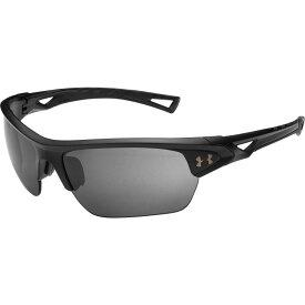 アンダーアーマー Under Armour メンズ スポーツサングラス 【Octane Running Polarized Sunglasses】Satin Black/Graphite Polar Mirror
