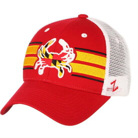 ゼファー Zephyr メンズ キャップ 帽子【Maryland Terrapins Red/White Maryland Pride' Adjustable Hat】