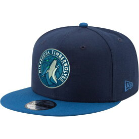 ニューエラ New Era メンズ キャップ スナップバック 帽子【Minnesota Timberwolves Two Tone 9Fifty Adjustable Snapback Hat】