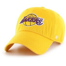 フォーティセブン 47 メンズ キャップ 帽子【Los Angeles Lakers Clean Up Adjustable Hat】