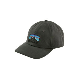 パタゴニア Patagonia メンズ 帽子 【Fitz Roy Horizons Traditional Cap】Forge Grey