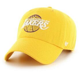 フォーティセブン 47 メンズ キャップ 帽子【Los Angeles Lakers City Edition Clean Up Adjustable Hat】