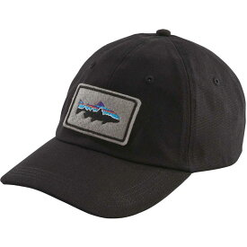 パタゴニア Patagonia メンズ 帽子 【Fitz Roy Trout Patch Trad Cap】Black