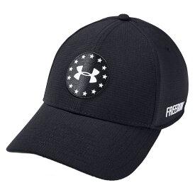 アンダーアーマー Under Armour メンズ ゴルフ 【Jordan Spieth Memorial Day Golf Hat】Black/White