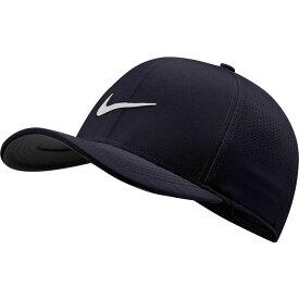 ナイキ Nike メンズ ゴルフ 【2020 AeroBill Classic99 Perforated Golf Hat】Obsidian/White