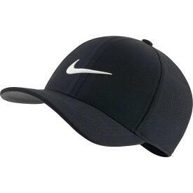 ナイキ Nike メンズ ゴルフ 【2020 AeroBill Classic99 Perforated Golf Hat】Black/White
