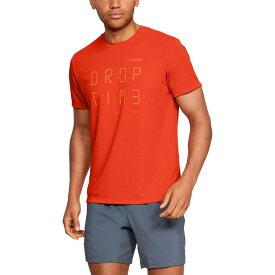 アンダーアーマー Under Armour メンズ ランニング・ウォーキング トップス【Graphic Time Short Sleeve Running T-Shirt (Regular and Big & Tall)】Ultra Orange/Ultra Orange