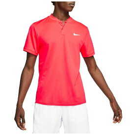 ナイキ Nike メンズ テニス ポロシャツ トップス【Court Dry Blade Tennis Polo】Laser Crimson