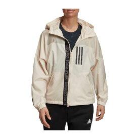 アディダス adidas レディース ジャケット ウィンドブレーカー アウター【Parley Wind Jacket】Linen