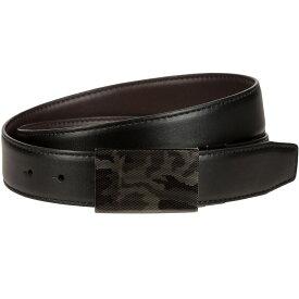 ナイキ Nike ユニセックス ゴルフ ベルト【Laser Camo Plaque Reversible Golf Belt】Black/Brown