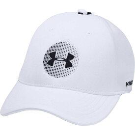 アンダーアーマー Under Armour ユニセックス ゴルフ 【Jordan Spieth Official Elevated Tour Golf Hat】White/Black