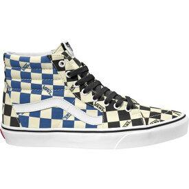 ヴァンズ Vans メンズ シューズ・靴 【SK8-Hi Big Check Canvas Shoes】Black/Navy