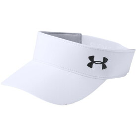 アンダーアーマー Under Armour レディース ゴルフ 【Links 2.0 Golf Visor】White/Black