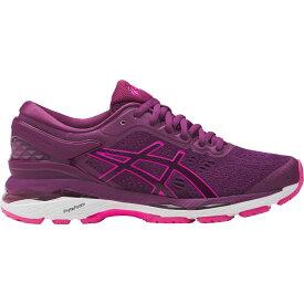 アシックス ASICS レディース ランニング・ウォーキング シューズ・靴【GEL-Kayano 24 Running Shoes】Purple/Pink