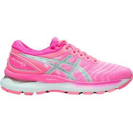 アシックス ASICS レディース ランニング・ウォーキング シューズ・靴【GEL-Nimbus 22 Running Shoes】Pink/Silver