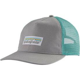 パタゴニア Patagonia レディース キャップ 帽子【Pastel P-6 Layback Trucker Hat】Drifter Grey