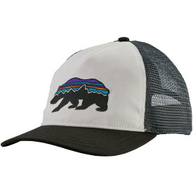 パタゴニア Patagonia レディース キャップ 帽子【Fitz Roy Bear Layback Trucker Hat】White
