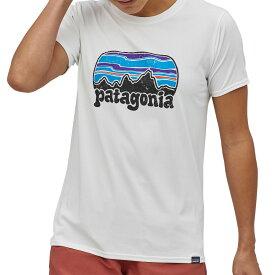 パタゴニア Patagonia レディース Tシャツ トップス【Cap Cool Daily Graphic T-Shirt】Fitz Roy Far Out/White