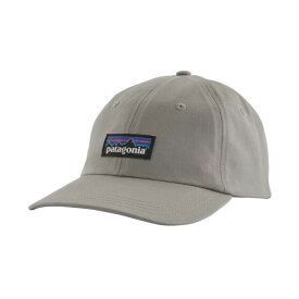 パタゴニア Patagonia メンズ 帽子 【P-6 Label Traditional Hat】Drifter Grey
