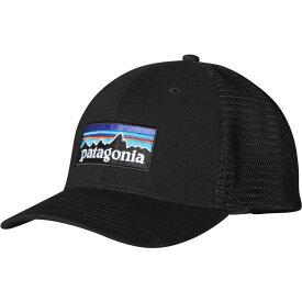 パタゴニア Patagonia メンズ キャップ 帽子【P-6 LoPro Trucker Hat】Black
