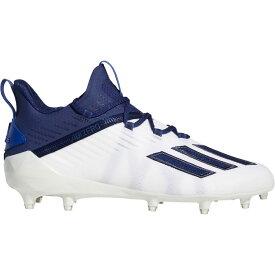 アディダス adidas メンズ アメリカンフットボール シューズ・靴【adizero Football Cleats】White/Navy