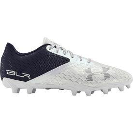 アンダーアーマー Under Armour メンズ アメリカンフットボール シューズ・靴【Blur Select MC Football Cleats】Navy/White