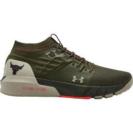 アンダーアーマー Under Armour メンズ フィットネス・トレーニング シューズ・靴【Project Rock 2 Training Shoes】Green