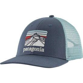 パタゴニア Patagonia メンズ キャップ 帽子【Line Logo Ridge LoPro Trucker】Dolomite Blue