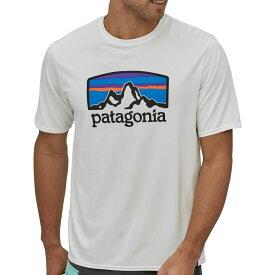 パタゴニア Patagonia メンズ トップス 【Capilene Cool Daily Graphic Shirt】Fitz Roy Horizons/White