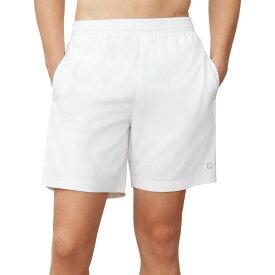 フィラ Fila メンズ テニス ショートパンツ ボトムス・パンツ【7 Hard Court 2 Tennis Shorts】White