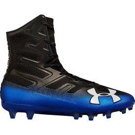 アンダーアーマー Under Armour メンズ アメリカンフットボール スパイク シューズ・靴【Highlight MC Football Cleats】Black/Blue
