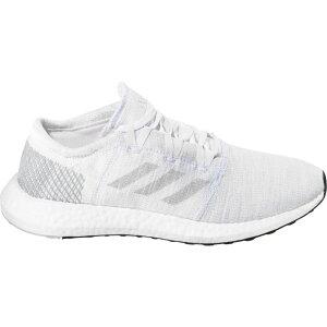 アディダス adidas メンズ ランニング・ウォーキング シューズ・靴【PureBoost Go Running Shoes】White/White