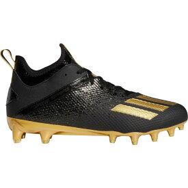 アディダス adidas メンズ アメリカンフットボール スパイク シューズ・靴【adizero Scorch Football Cleats】Black/Gold