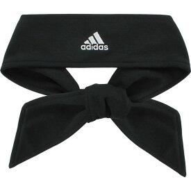 アディダス adidas レディース ヘアアクセサリー ヘッドバンド【Solid Tie Headband】Black