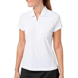 スラセンジャー Slazenger レディース ゴルフ ポロシャツ トップス【Tech Golf Polo】White