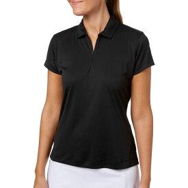 スラセンジャー Slazenger レディース ゴルフ ポロシャツ トップス【Tech Golf Polo】Black