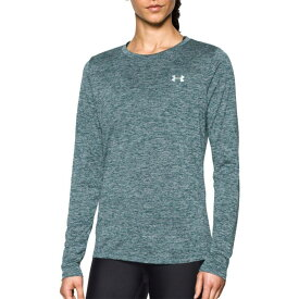 アンダーアーマー Under Armour レディース トップス 【Tech Twist Print Long Sleeve Shirt】Arden Green