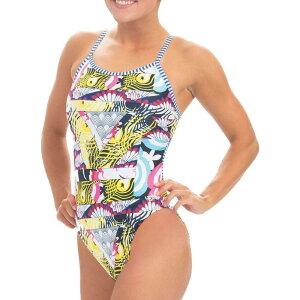 ドルフィン Dolfin レディース ワンピース 水着・ビーチウェア【Uglies Print String Back One Piece Swimsuit】Kimono
