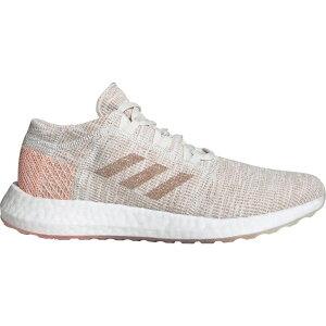 アディダス adidas レディース ランニング・ウォーキング シューズ・靴【Pureboost Go Running Shoes】Cream/White