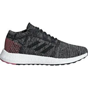 アディダス adidas レディース ランニング・ウォーキング シューズ・靴【Pureboost Go Running Shoes】Grey/Burgundy