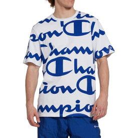 チャンピオン Champion メンズ Tシャツ トップス【Life Heritage Allover Print Tee】Surf The Web
