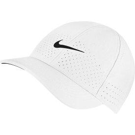 ナイキ Nike メンズ 帽子 【Court Advantage Tennis Hat】White