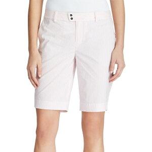 ラルフ ローレン RLX Golf レディース ゴルフ ショートパンツ ボトムス・パンツ【Seersucker Par Golf Shorts】Island Pink Seersucker