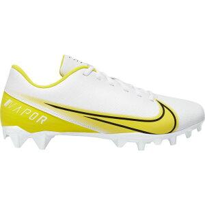 ナイキ Nike メンズ アメリカンフットボール スパイク シューズ・靴【Vapor Edge Varsity Football Cleats】White/Yellow