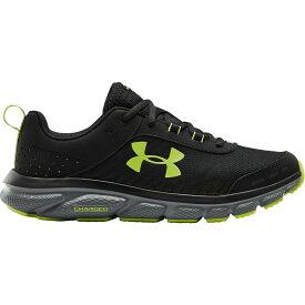 アンダーアーマー Under Armour メンズ ランニング・ウォーキング シューズ・靴【Charged Assert 8 Running Shoes】Black/Grey/Green