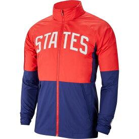 ナイキ Nike メンズ サッカー ジャケット アウター【USA Water-Repellent Soccer Full-Zip Jacket】Speed Red