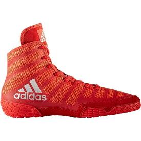 アディダス adidas メンズ レスリング シューズ・靴【adizero Varner Wrestling Shoes】Red/Silver