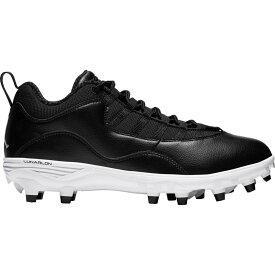ナイキ ジョーダン Jordan メンズ アメリカンフットボール スパイク シューズ・靴【10 TD Football Cleats】Black/White