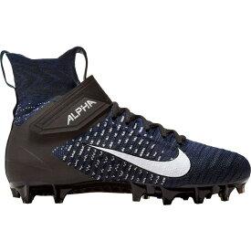 ナイキ Nike メンズ アメリカンフットボール スパイク シューズ・靴【Alpha Menace Elite 2 Football Cleats】Midnight Navy/Black/White
