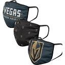 フォコ FOCO ユニセックス 帽子 3点セット【Adult Vegas Golden Knights 3-Pack Facemasks】